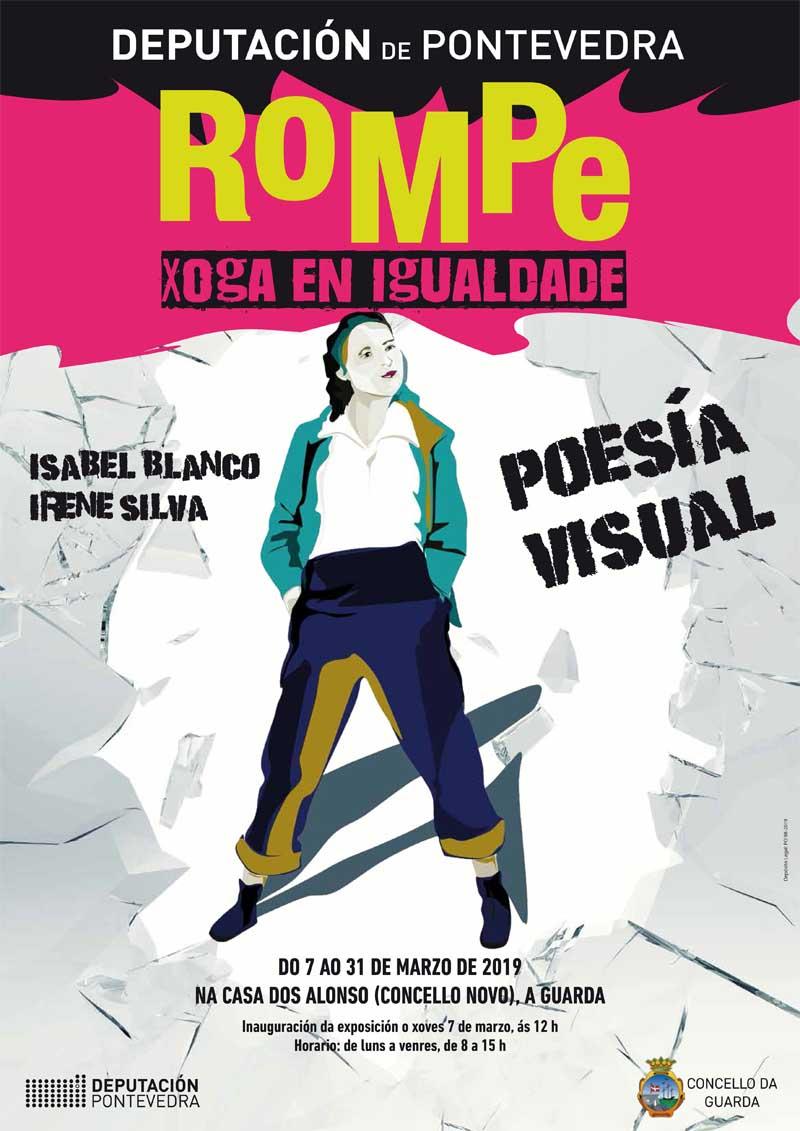 A Guarda conmemora o Día Internacional da Muller 2019 con diversas actividades nas que se inclúen a Exposición «Rompe. Xoga en igualdade», a proxección dun documental sobre Fútbol Feminino e unha concentración reivindicativa.