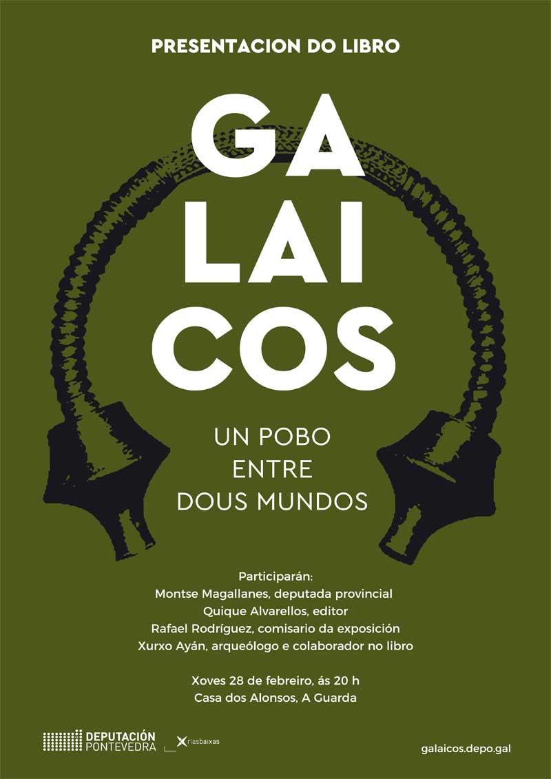 Este xoves día 28 de febreiro ás 20:00h a Casa dos Alonsos acolle a Presentación do libro «Galaicos – Un pobo entre dous mundos».