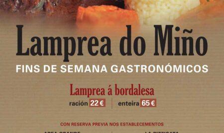 A Guarda exalta a lamprea do Miño cuns fins de semana gastronómicos