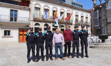 A Guarda incrementa os efectivos da Policía Local