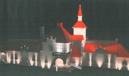 O concello da Guarda dotará ao Centro Cultural de iluminación ornamental