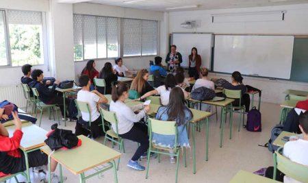 Alumnos da Sangriña participan no Proxecto conecta+ un enfoque positivo hacia as novas tecnoloxías