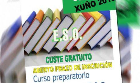 Preparación das probas para o Graduado en ESO:  convocatoria de setembro