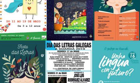 Actividades programadas para a celebración do Día das Letras Galegas na Guarda