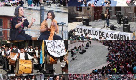 A celebración do Día das Letras Galegas marcou a fin de semana na Guarda