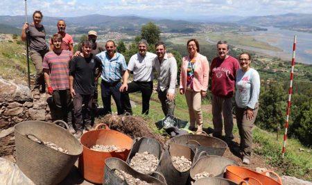 Rematan os traballos de Escavación do Cuncheiro do Monte Trega na Guarda