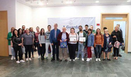 Entrega de premios da Ruta gastronómica «Tapearte» na Guarda