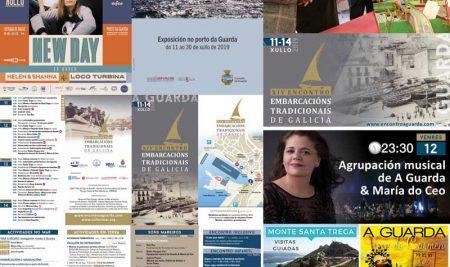 A Guarda congrega numerosas actividades entorno ao XIV Encontro de Embarcacións Tradicionais de Galicia