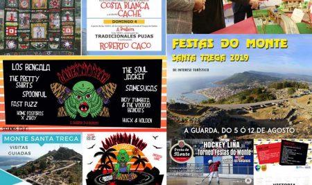 A Guarda da a benvida ao mes de agosto cunha ampla programación cultural, deportiva e festiva