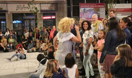 Blues do País encheu de música a Praza de Avelino Vicente da Guarda nun novo concerto de «Música nas  Prazas»