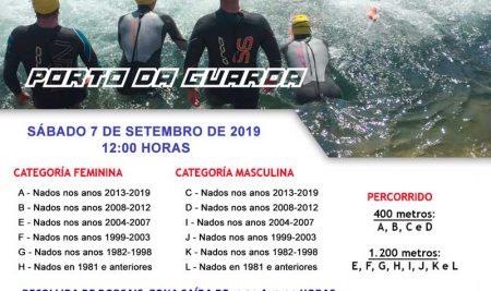 Inscricións abertas para a XXIV Travesía a nado do Porto da Guarda