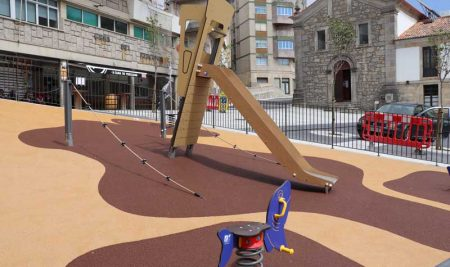 O Concello da Guarda reclama un parque seguro para Concepción Arenal