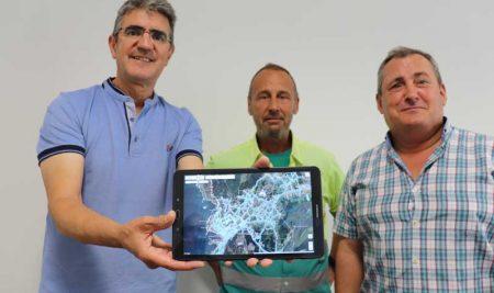 A Guarda conta cunha nova aplicación informática para a xestión das avarías no alumeado público