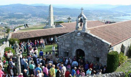 A Guarda acolle o 23 de setembro a Romaría de Santa Trega