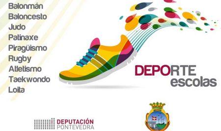 Apertura do prazo de inscrición das Deporte Escolas 2019-2020 da Deputación de Pontevedra