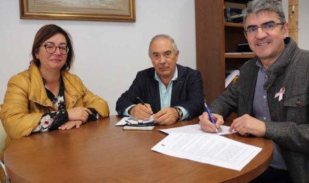 O Concello da Guarda e o Mecalia Atlético Guardés asinan un convenio de colaboración