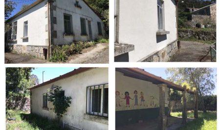A Guarda rehabilita a antiga vivenda dos mestres da escola da Poza en Camposancos