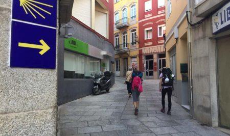 O Camiño Portugués da Costa sitúase no terceiro lugar