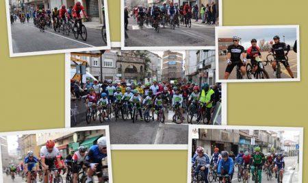 Máis de medio cento de deportistas participaron na Guarda na Carreira de vellas Glorias do Ciclismo
