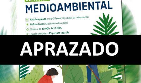 A Guarda convida a reforestar o Camiño de Santiago