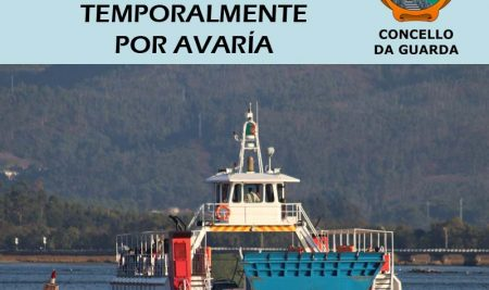 Unha avaría obriga a suspender temporalmente o servizo do Ferry-Boat entre A Guarda e Caminha
