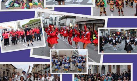 A Guarda pecha o Entroido 2020 cun multitudinario desfile