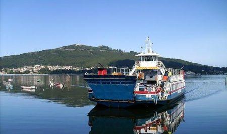 Horario semanal do transbordador A Guarda – Caminha do luns 30 ao domingo 6 de decembro de 2020