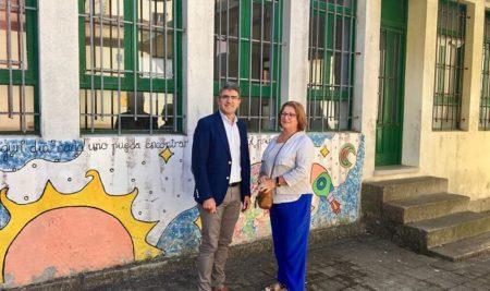 A Xunta comprométese a cofinanciar a construción dunha nova escola infantil na Guarda