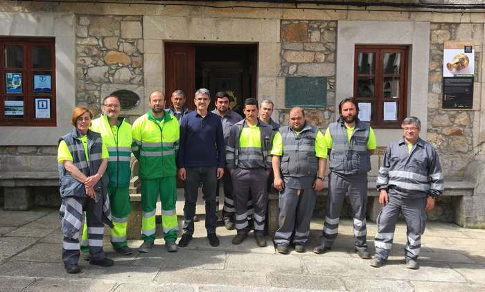 Traballadores municipais con cargo ao Plan Concellos 2018