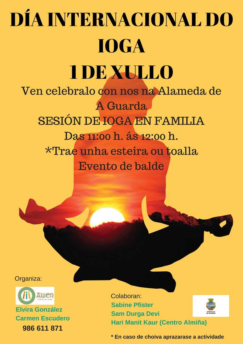 O vindeiro domingo día 1 de xullo a Alameda da Guarda será o escenario dunha xornada de Ioga aberta ao público e de carácter gratuíto que terá lugar de 11:00h a 12:00h da mañá.