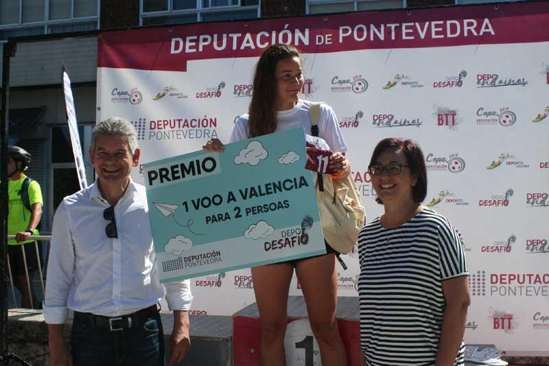Brais Misa e Ariana González venceron na carreira de 14 quilómetros marcada polas altas temperaturas