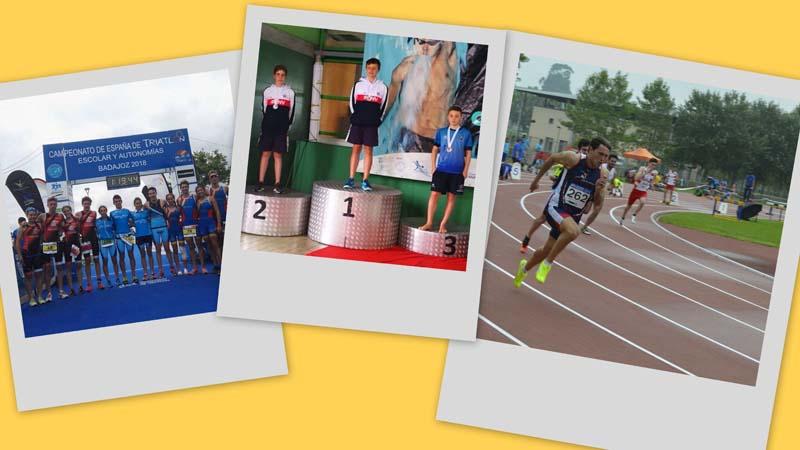 O Concello da Guarda quere felicitar aos deportistas que na pasada fin de semana acadaron varios éxitos deportivos nas súas respectivas modalidades.