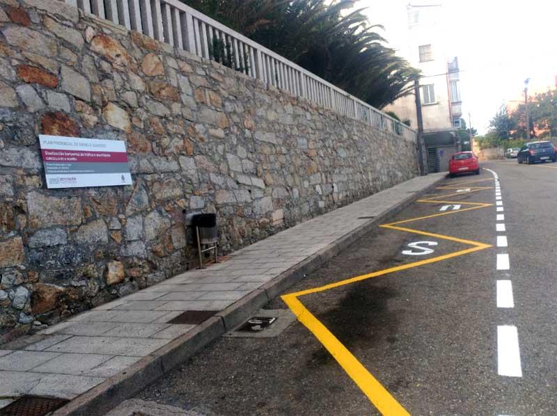 O vindeiro luns día 10 de setembro iniciaranse na Guarda as obras da Rúa Concepción Arenal no tramo comprendido entre a Rúa Galicia(Altamar) e a Rúa Pacífico Rodríguez.