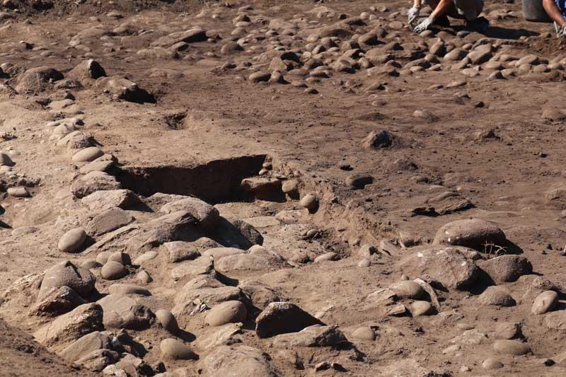 O pasado luns día 24 de setembro iniciáronse os traballos de escavación arqueolóxica das Salinas do Seixal e de Camposancos, enmarcado no Proxecto «A Guarda, Mar de Sal».