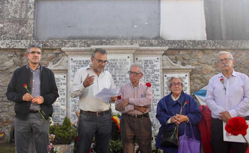 O acto de homenaxe terá lugar ás 17:30h na fosa común do cemiterio de Sestás, onde se fará unha ofrenda floral á que están convidados todos os grupos políticos con representación municipal así como as asociacións culturais e sociais do Concello de A Guarda.