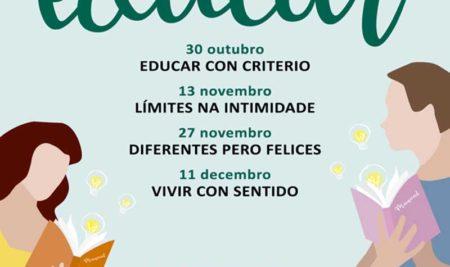 A Guarda inicia o 30 de outubro a terceira edición de «Manual de instrucións para educar»