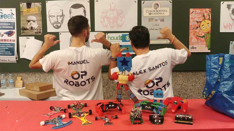 A Casa dos Alonsos da Guarda acolle este venres a segunda xornada da Feira do Emprego e Formación «Tecnoimaxín», que contará esta xornada cunha Feira Maker con exhibicións de robótica e varias charlas.