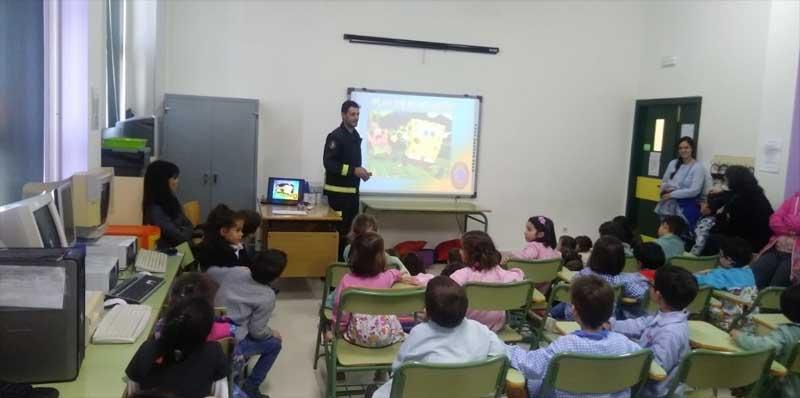 O GES da Guarda visita os centros educativos para realizar charlas informativas