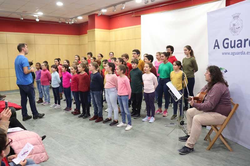 O pasado xoves día 13 de decembro a Casa dos Alonsos da Guarda acolleu, dentro da Programación de Nadal 2018/19, o Concerto de Nadal do Conservatorio de Música Elemental da Guarda.