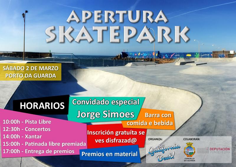 No mes de agosto de 2018 iniciáronse no Porto da Guarda as obras de ampliación da zona deportiva existente e a preparación dos terreos para albergar a nova pista de skate e zona deportiva e de ocio infantil.