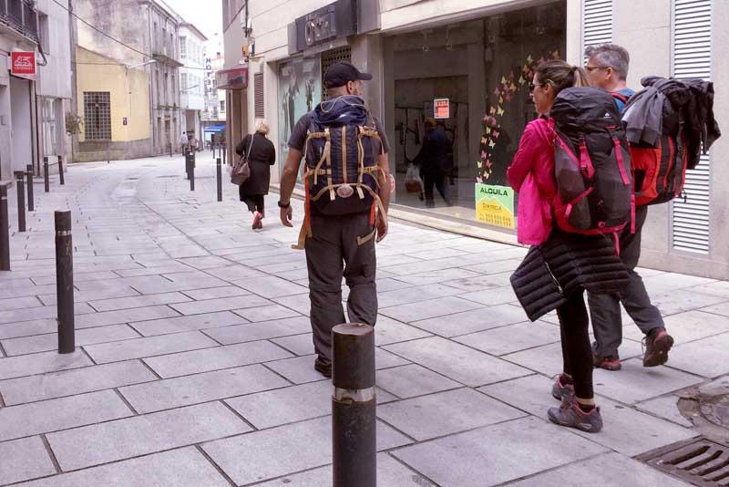 Dende fai meses o Camiño Portugués da Costa ao seu paso por A Guarda, punto de entrada de peregrinos procedentes de Portugal, continua incrementando notablemente o número de peregrinos que empregan esta ruta.