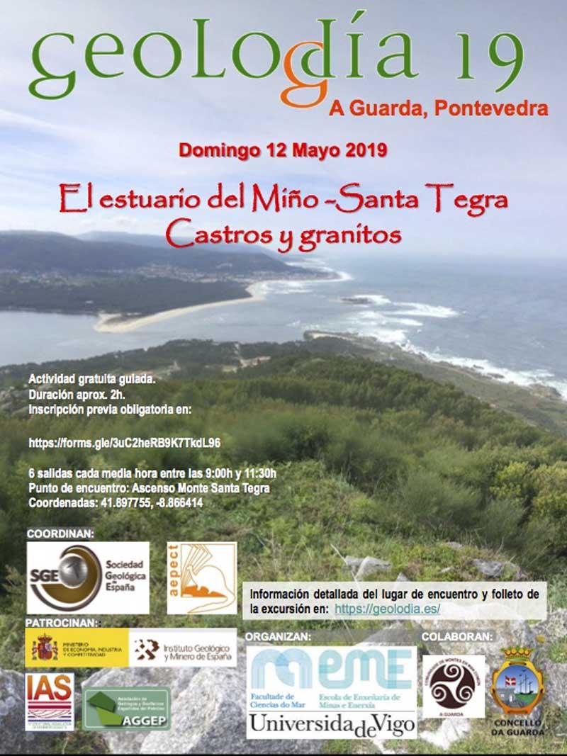 A actividade, gratuíta e guiada, celébrase este domingo día 12 de maio no Monte Santa Trega da Guarda