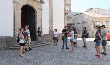 O patrimonio do casco urbano da Guarda dáse a coñecer con visitas guiadas