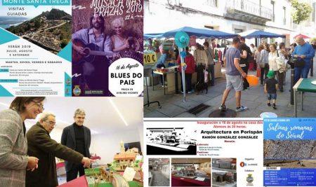 Visitas guiadas, música e exposicións nesta fin de semana na Guarda