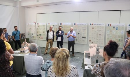 Máis dunha vintena de maquetas compoñen a Exposición «Arquitectura en Porispán» na Guarda