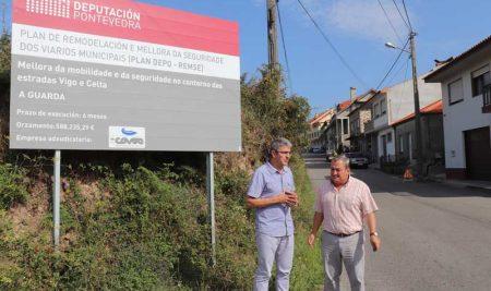 Arrancan as obras da mellora da seguridade no entorno da rúa Vigo e Celta na Guarda a través do Plan DepoRemse