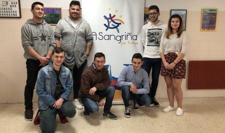 Alumnado e profesorado do IES A Sangriña participan no proxecto KA102 de Mobilidade