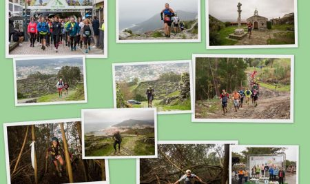 Case 500 deportistas participaron no VI Trail do Trega