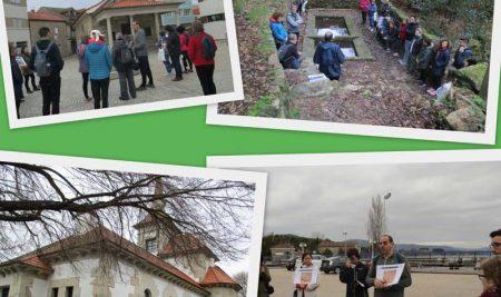 """""""Falemos do Camiño"""" achega o legado do Camiño Portugués da Costa a veciños e visitantes da Guarda"""