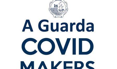 A Guarda Covid Makers comeza a colaborar na fabricación de máscaras de protección